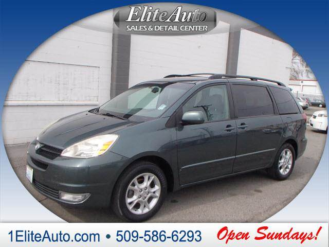 2005 TOYOTA SIENNA XLE LIMITED 7 PASSENGER 4DR MINI green what a deal  learning that you purchas