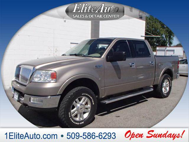 2004 FORD F-150 LARIAT 4DR SUPERCREW 4WD STYLESI beige power steeringpower d