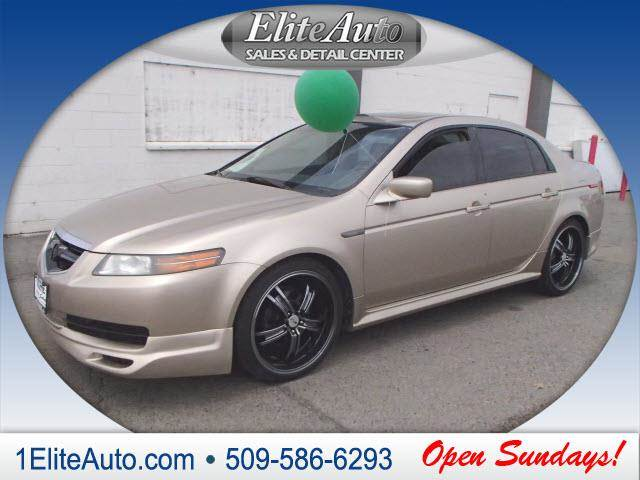 2004 ACURA TL 32 4DR SEDAN gold the title check is an important part of the pre-owned buying pro
