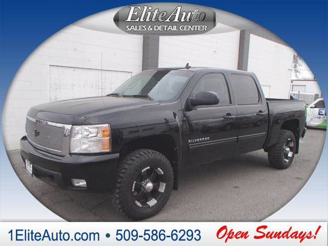 2010 CHEVROLET SILVERADO 1500 LT 4X4 4DR CREW CAB 58 FT SB black now is the right time to buy