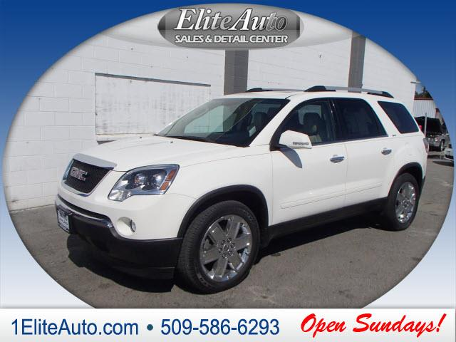 2010 GMC ACADIA SLT-2 AWD 4DR SUV white why over pay this is one of the best values around  the