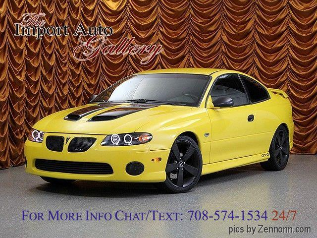 2005 pontiac gto for sale in addison il. Black Bedroom Furniture Sets. Home Design Ideas