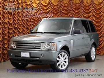 2004 Land Rover Range Rover for sale in Addison, IL