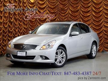 2012 Infiniti G25 Sedan for sale in Addison, IL