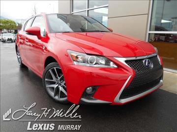Lexus Ct Hybrid Murray >> Lexus CT 200h For Sale - Carsforsale.com