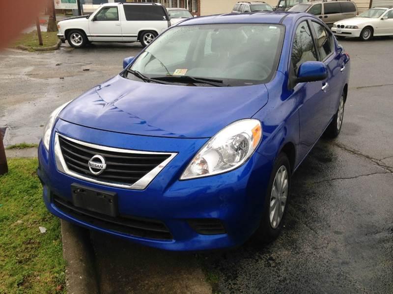 2014 Nissan Versa 1.6 SV 4dr Sedan - Petersburg VA
