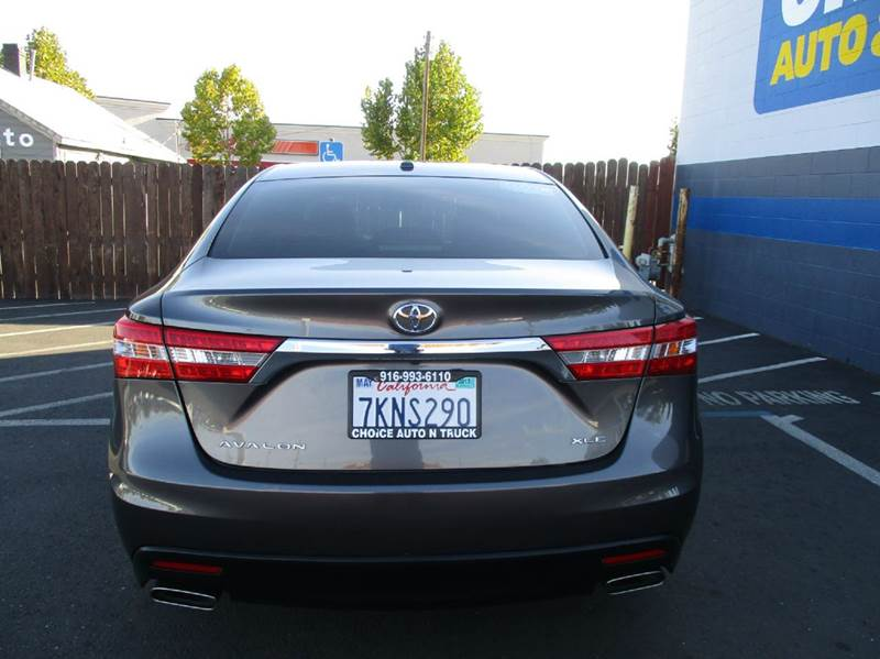 Toyota Avalon XLE Dr Sedan In Sacramento CA Choice Auto - Avalon truck