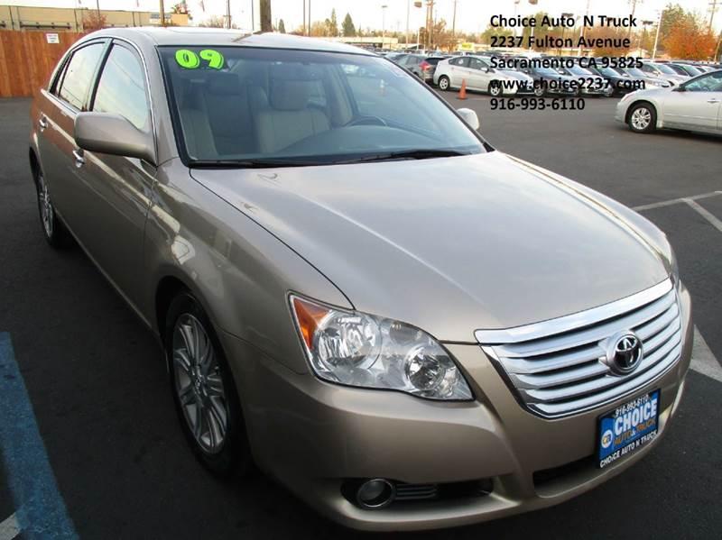 Toyota Avalon Limited Dr Sedan In Sacramento CA Choice - Avalon truck