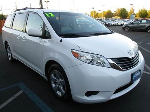 2012 Toyota Sienna for sale in Sacramento, CA