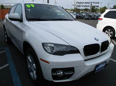 2009 BMW X6 for sale in Sacramento, CA