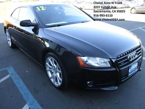 2012 Audi A5 for sale in Sacramento, CA