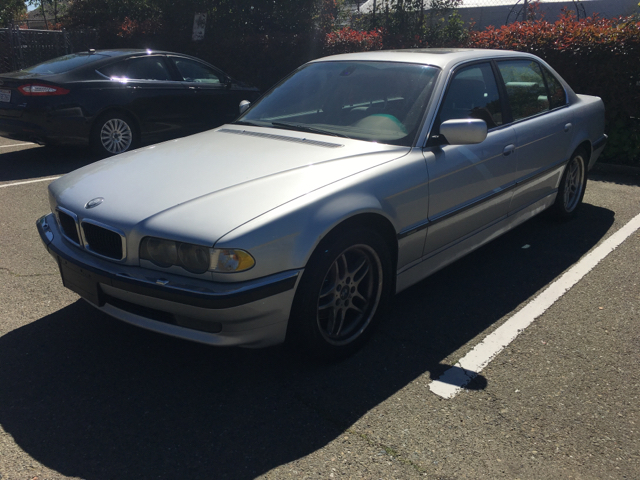 2001 BMW 7 SERIES 740IL 4DR SEDAN unspecified abs - 4-wheel anti-theft system - alarm cassette