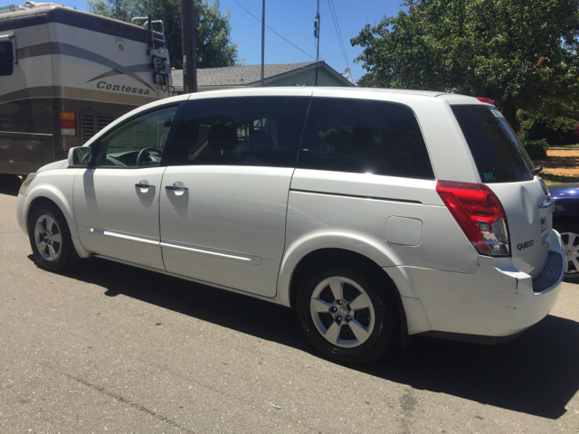 2007 NISSAN QUEST 35 4DR MINI VAN unspecified 2-stage unlocking doors abs - 4-wheel active hea