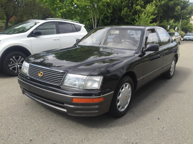 1996 LEXUS LS 400 BASE 4DR SEDAN unspecified abs - 4-wheel antenna type - power anti-theft syst