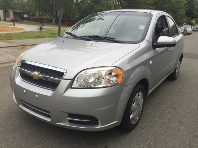 2007 CHEVROLET AVEO LS 4DR SEDAN unspecified air filtration airbag deactivation - occupant sensin