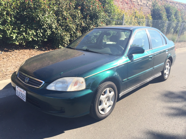 1999 HONDA CIVIC EX 4DR SEDAN unspecified abs - 4-wheel center console cruise control front ai