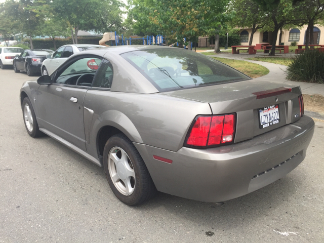 2002 FORD MUSTANG BASE 2DR COUPE unspecified 16 inch wheels anti-theft system - alarm cassette