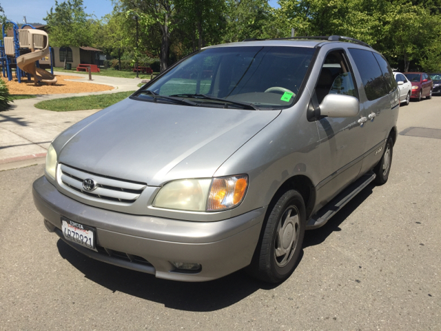 2001 TOYOTA SIENNA XLE 4DR MINI VAN unspecified abs - 4-wheel anti-theft system - alarm captain