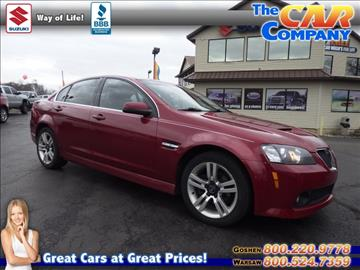 2009 Pontiac G8 for sale in Warsaw, IN