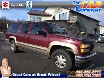 1999 GMC Suburban for sale in Warsaw, IN
