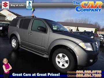 2009 Nissan Pathfinder for sale in Warsaw, IN