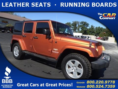 2011 Jeep Wrangler Unlimited for sale in Warsaw, IN