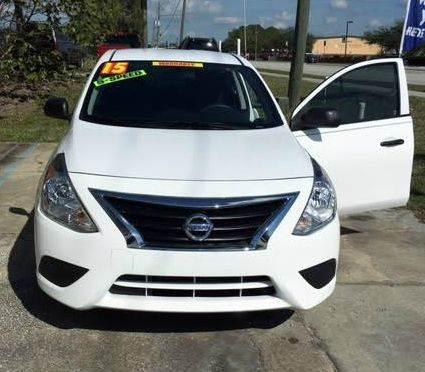 2015 Nissan Versa 1.6 S 4dr Sedan 5M - Shelbyville MI