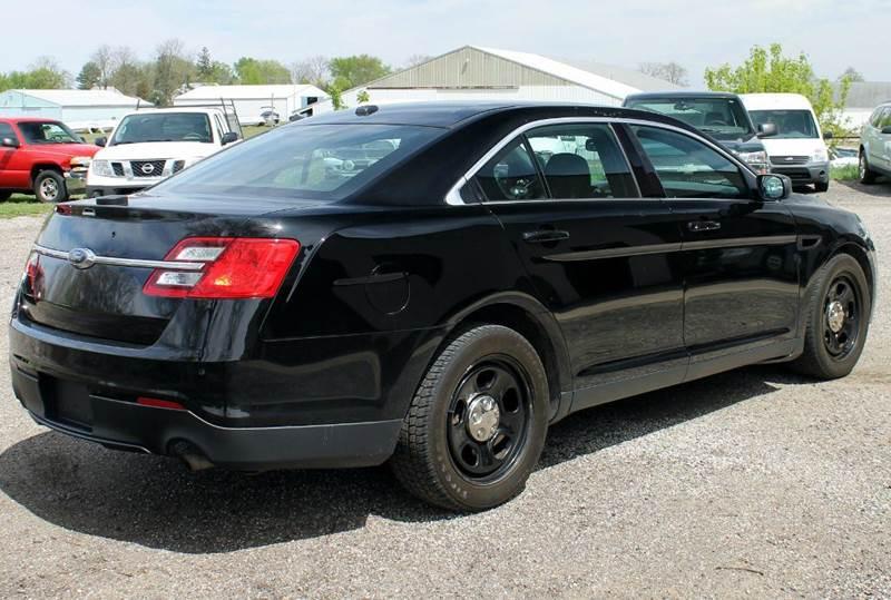 2014 Ford Taurus AWD Police Interceptor 4dr Sedan - Shelbyville MI