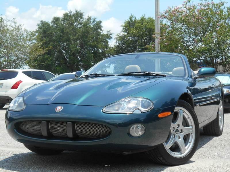 2002 Jaguar XKR 2dr Supercharged Convertible   Riverview FL