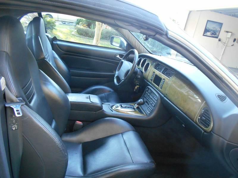 2002 Jaguar XKR 100 2dr Convertible - Riverview FL