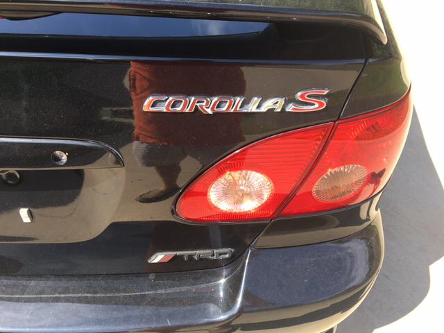 2008 Toyota Corolla S 4dr Sedan 4A - Huntsville TX