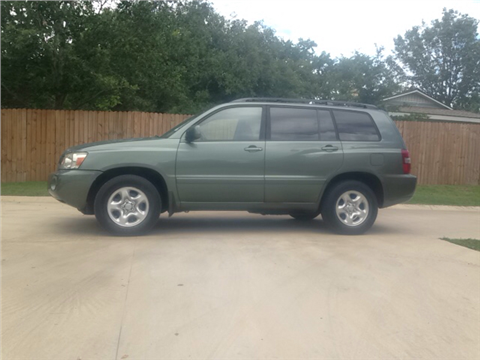2006 Toyota Highlander for sale in Huntsville, TX