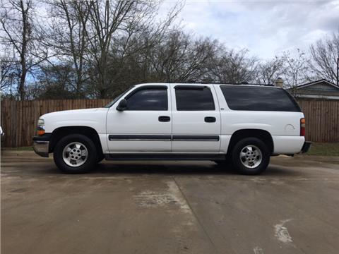 2002 Chevrolet Suburban for sale in Huntsville, TX