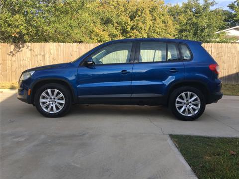 2009 Volkswagen Tiguan for sale in Huntsville, TX