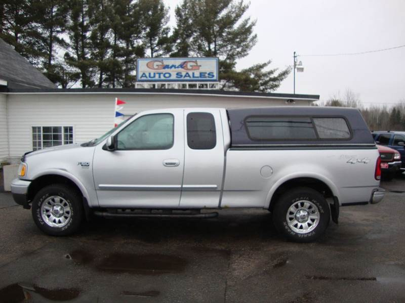 2002 ford f 150 xlt 4dr supercab 4wd styleside sb in merrill wi g and g auto sales. Black Bedroom Furniture Sets. Home Design Ideas