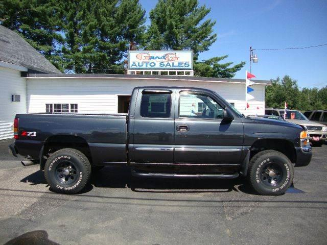 2004 gmc sierra 1500 sle 4dr extended cab 4wd sb in merrill wi g and g auto sales. Black Bedroom Furniture Sets. Home Design Ideas