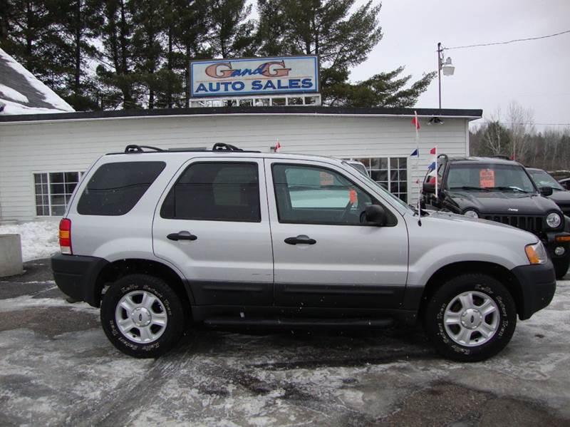 2004 ford escape xlt 4wd 4dr suv in merrill wi g and g auto sales. Black Bedroom Furniture Sets. Home Design Ideas