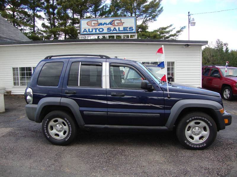 2007 Jeep Liberty Sport 4dr Suv 4wd In Merrill Wi G And