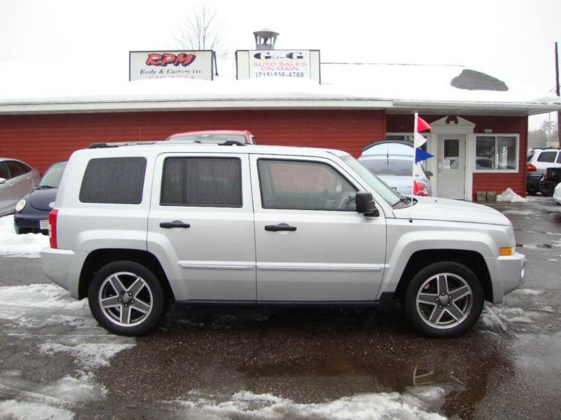 2008 jeep patriot 4x4 limited 4dr suv w cj1 side airbag. Black Bedroom Furniture Sets. Home Design Ideas