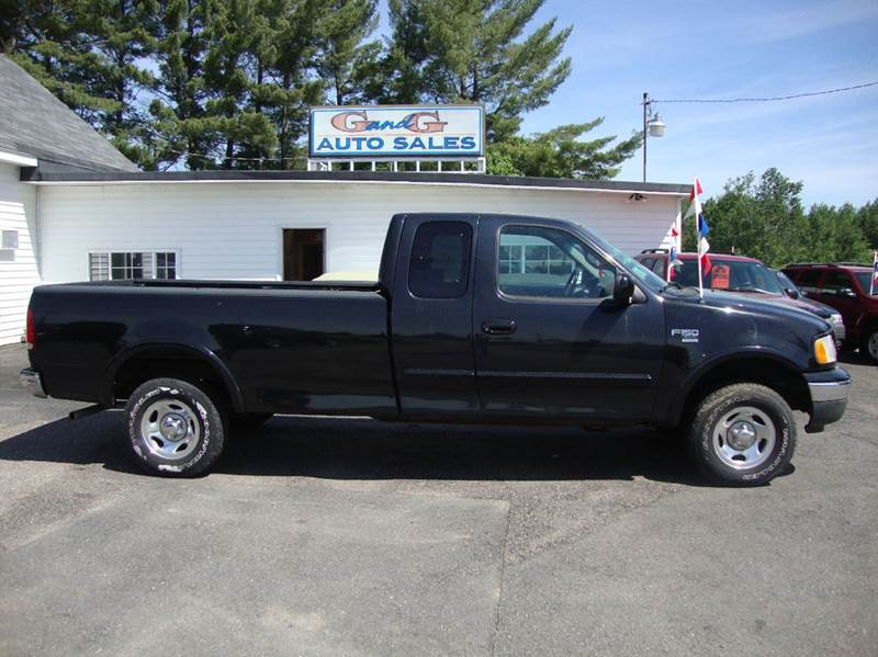 1999 ford f 150 4dr xlt 4wd extended cab lb in merrill wi g and g auto sales. Black Bedroom Furniture Sets. Home Design Ideas