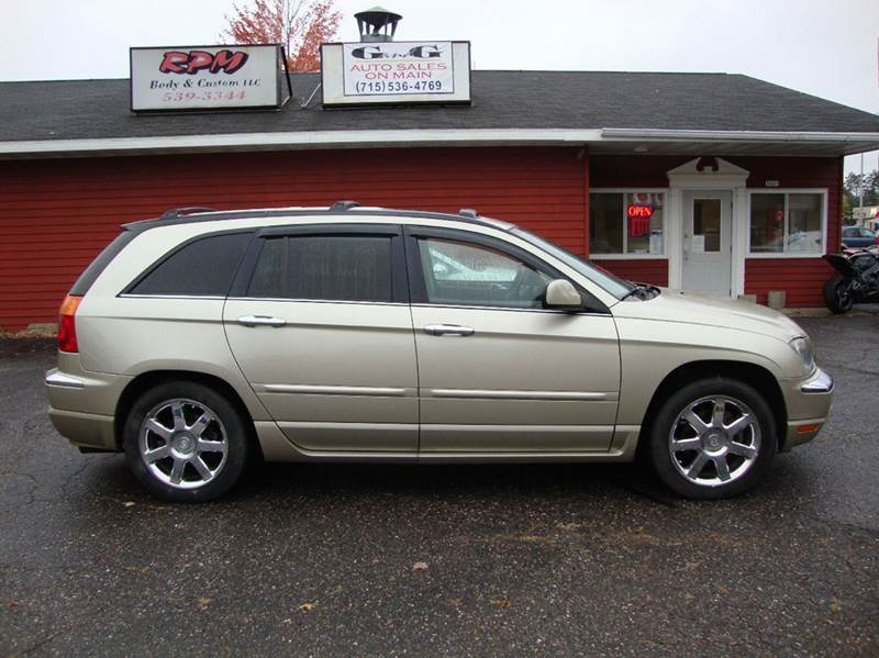 2006 chrysler pacifica limited awd 4dr wagon in merrill wi. Black Bedroom Furniture Sets. Home Design Ideas
