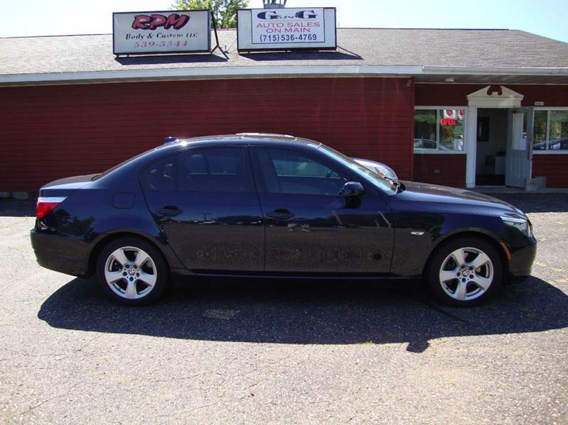 2008 bmw 5 series 535xi awd 4dr sedan in merrill wi g and g auto sales. Black Bedroom Furniture Sets. Home Design Ideas