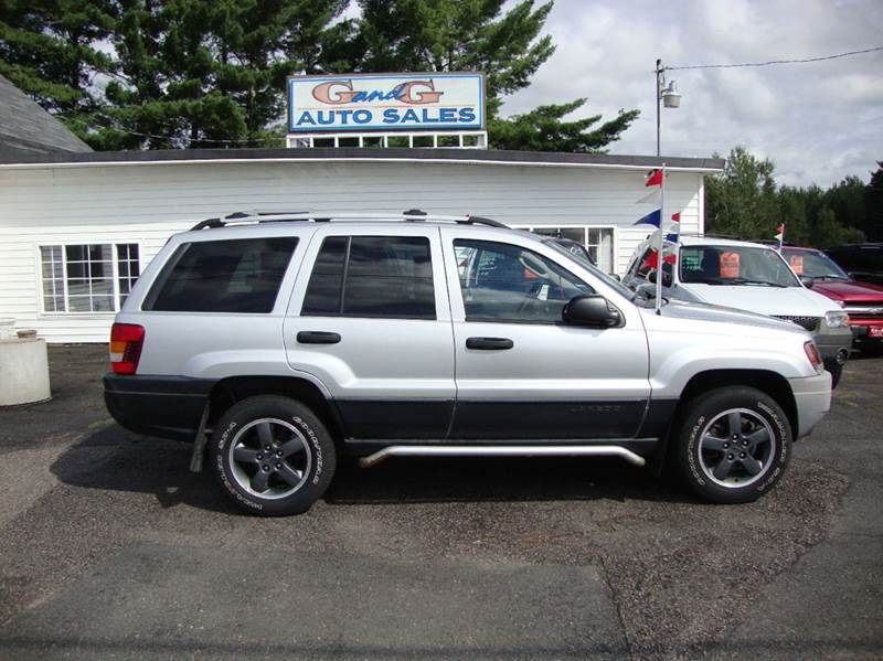2004 jeep grand cherokee 4dr freedom edition 4wd suv in merrill wi g and g auto sales. Black Bedroom Furniture Sets. Home Design Ideas