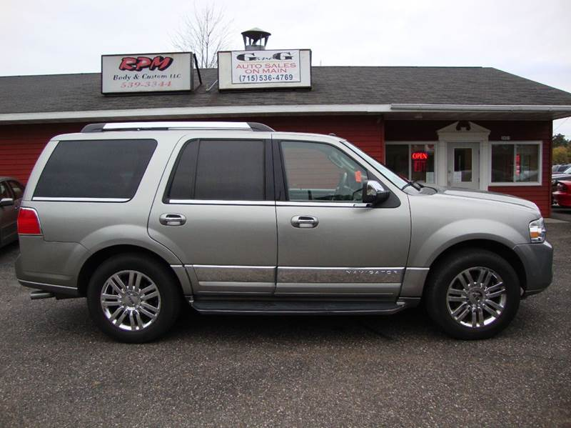 2008 Lincoln Navigator Base 4dr Suv 4wd In Merrill Wi G And G Auto Sales