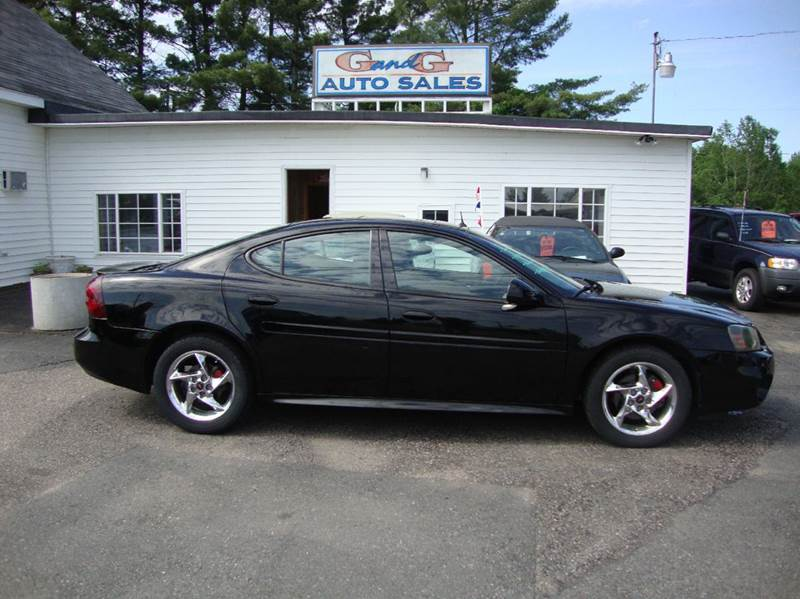 2004 pontiac grand prix gtp 4dr supercharged sedan in merrill wi g and g auto sales. Black Bedroom Furniture Sets. Home Design Ideas