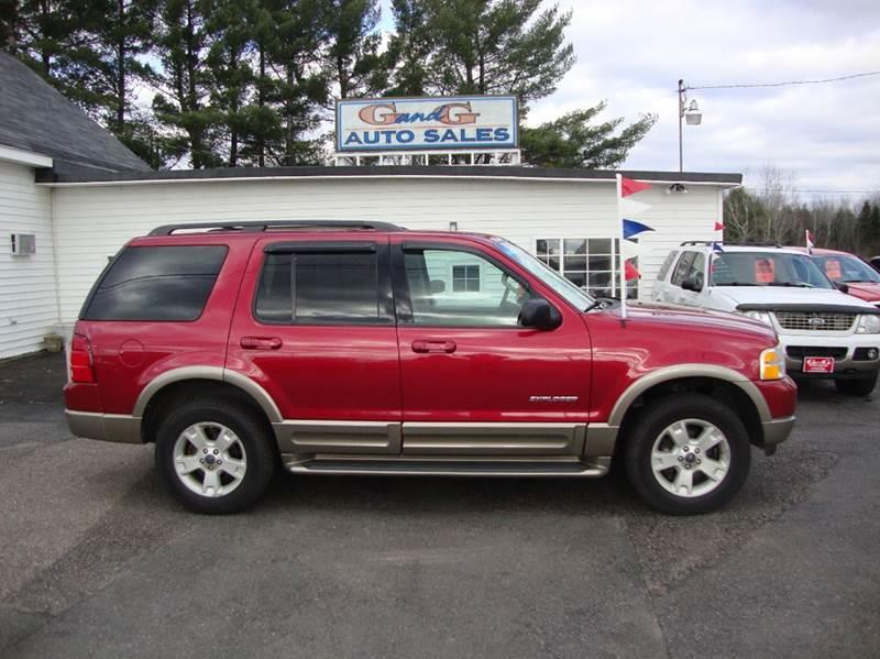 2004 ford explorer eddie bauer 4wd 4dr suv in merrill wi g and g auto sales. Black Bedroom Furniture Sets. Home Design Ideas
