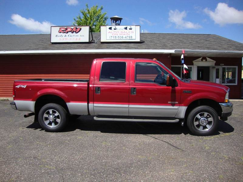 2003 ford f 250 super duty xlt 4dr crew cab 4wd sb in merrill wi g and g auto sales. Black Bedroom Furniture Sets. Home Design Ideas