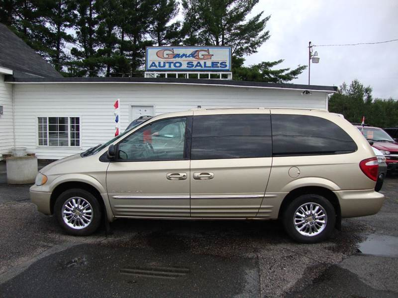 2001 chrysler town and country limited 4dr extended mini van in merrill wi g and g auto sales. Black Bedroom Furniture Sets. Home Design Ideas