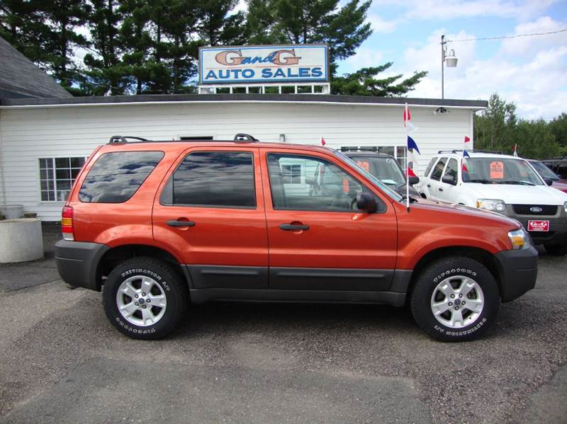 2007 ford escape awd xlt sport 4dr suv in merrill wi g and g auto sales. Black Bedroom Furniture Sets. Home Design Ideas