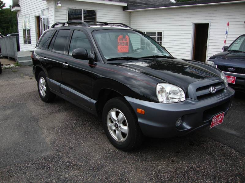 2005 hyundai santa fe gls awd 4dr suv in merrill wi g and g auto sales. Black Bedroom Furniture Sets. Home Design Ideas